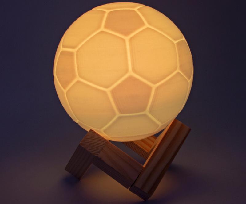 Светильник-проектор в форме мяча