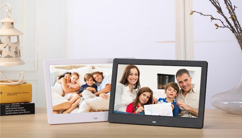 Электронный фотоальбом с лучшими семейными фотографиями