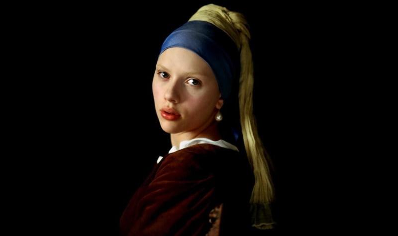 Скарлетт Йоханссон в картине «Девушка с жемчужной сережкой»