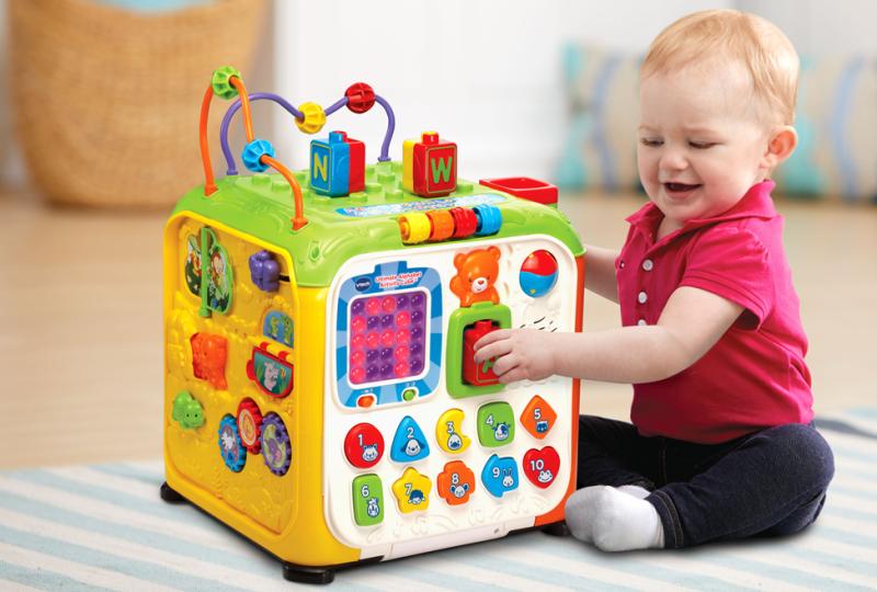 Развивающие новогодние подарки для малышей