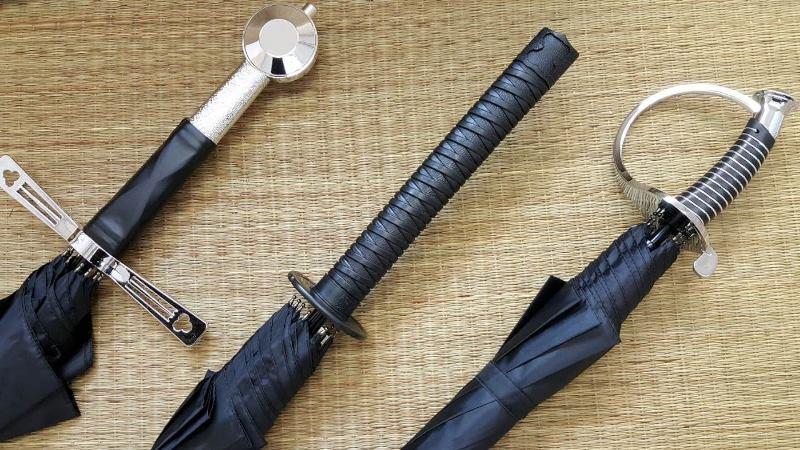Зонт-меч