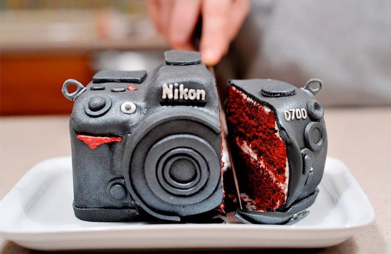 Торт-фтоаппарат в подарок