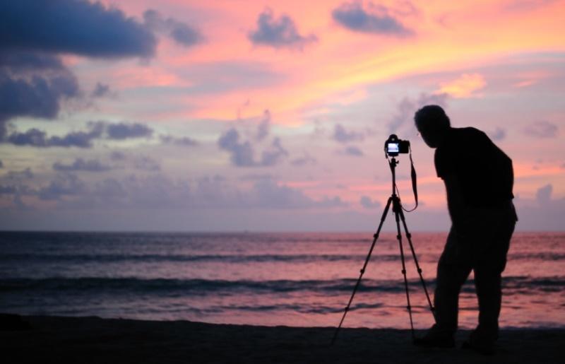 Штатив фотографа