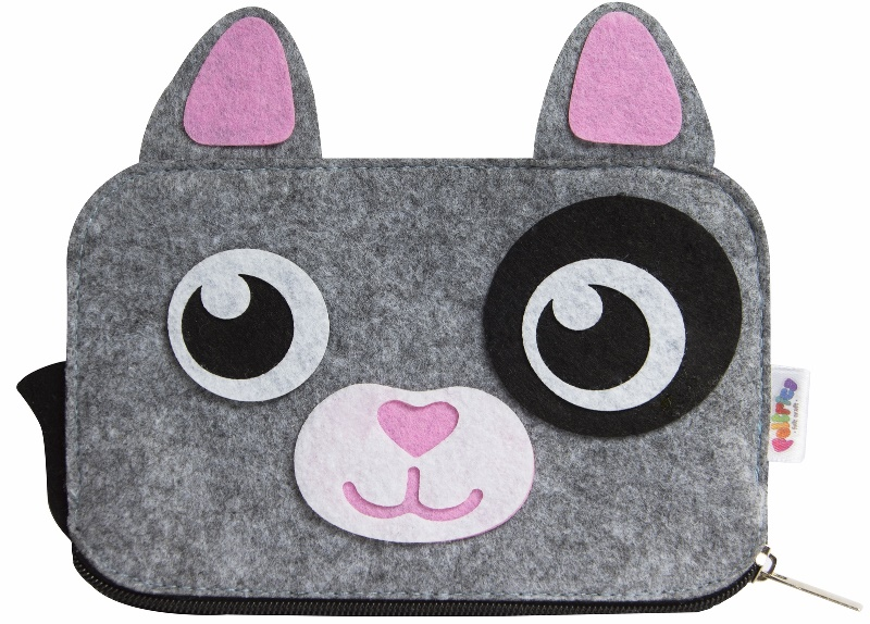 Кошелек в виде котенка