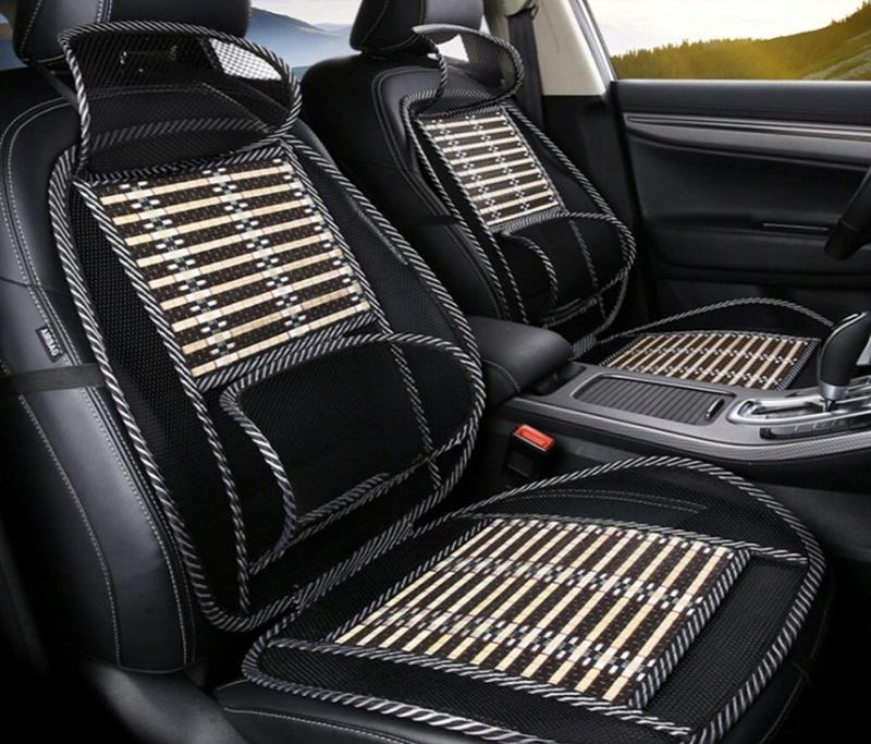 Массажные чехлы на кресло автомобиля