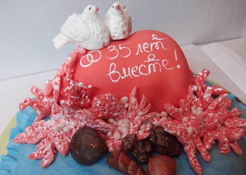 Торт в подарок паре