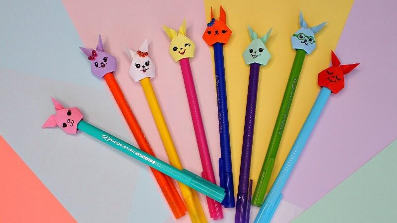 Цветные ручки в подарок