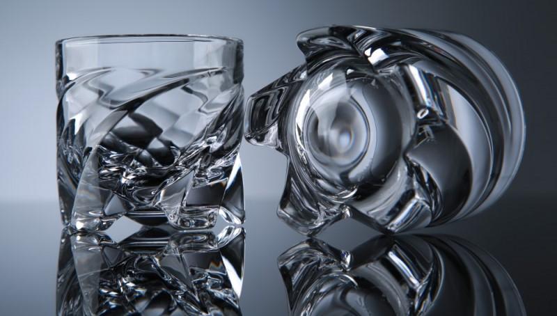 Спиральные стаканы