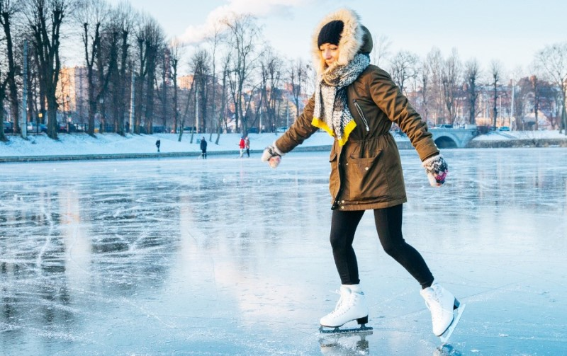 Катание на коньках