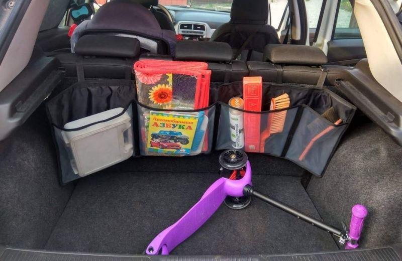 Органайзер в багажник авто