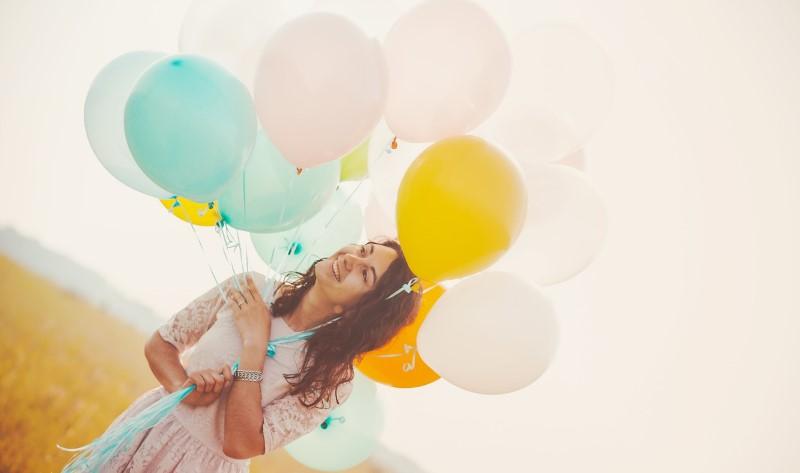 Воздушные шары на свидание