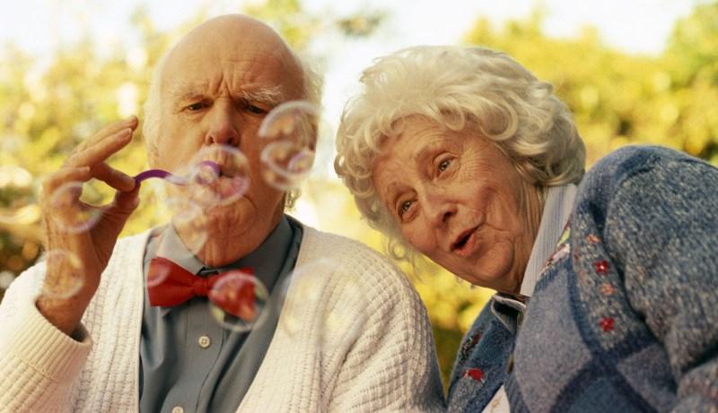 Поздравления для пожилых людей