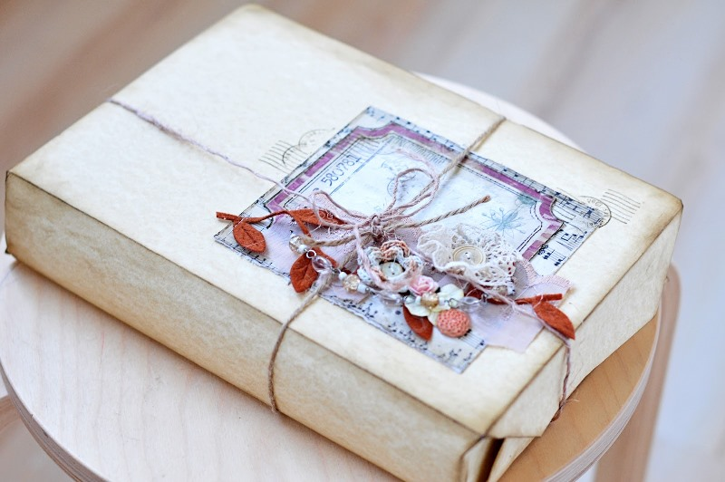 Даже обычную книгу можно красиво упаковать