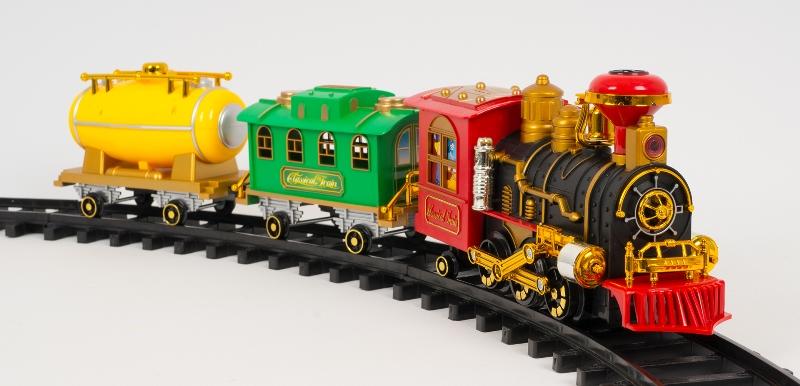 Железная дорога – любимая игрушка