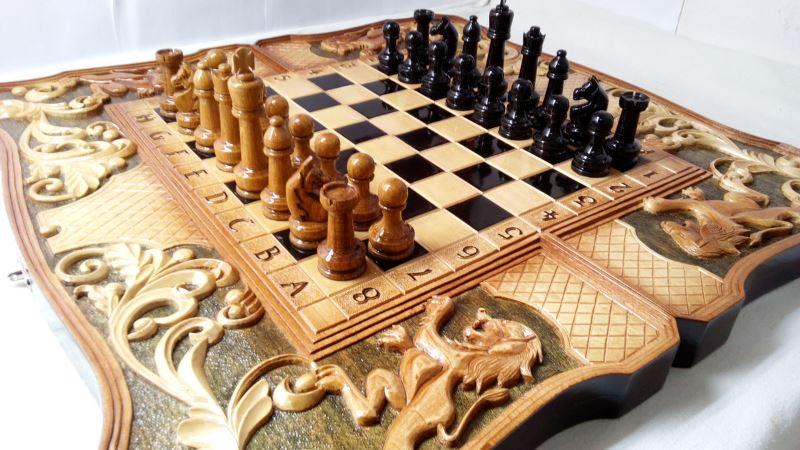 Оригинальные шахматы