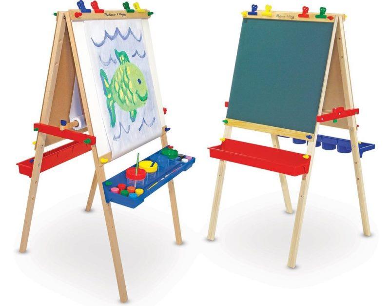 Детский мольберт для рисования