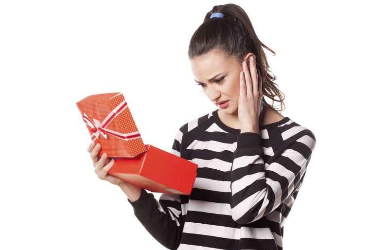 Не каждый подарок может обрадовать