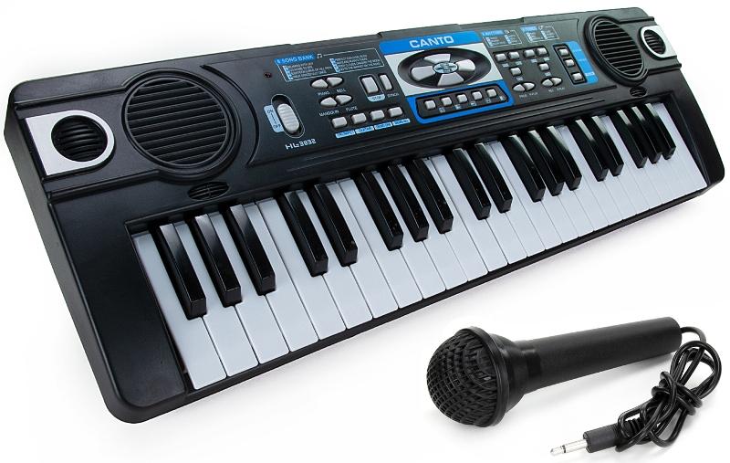 Синтезатор с микрофоном