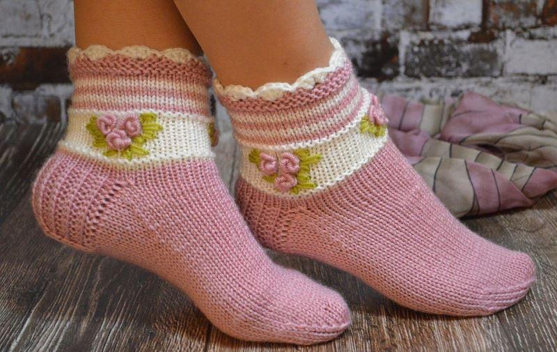 Красивые носочки
