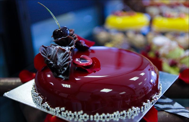 Оригинальный красивый торт